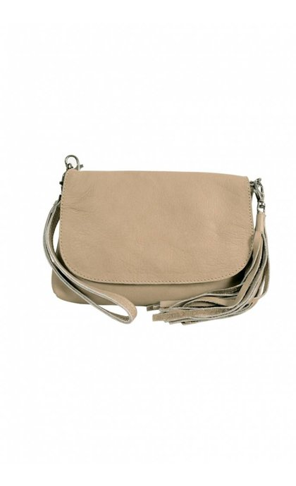 Elvy Gigi Little Festival Bag Taupe