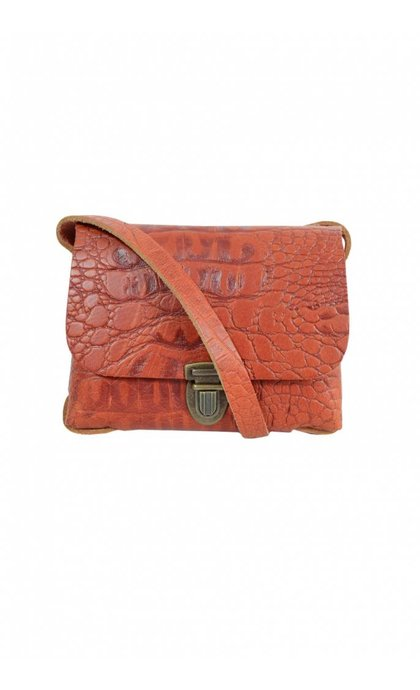 Elvy Janis Croco Red
