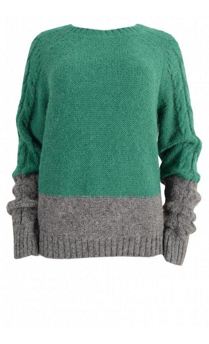 Leon & Harper Marcel Bi Knit Green