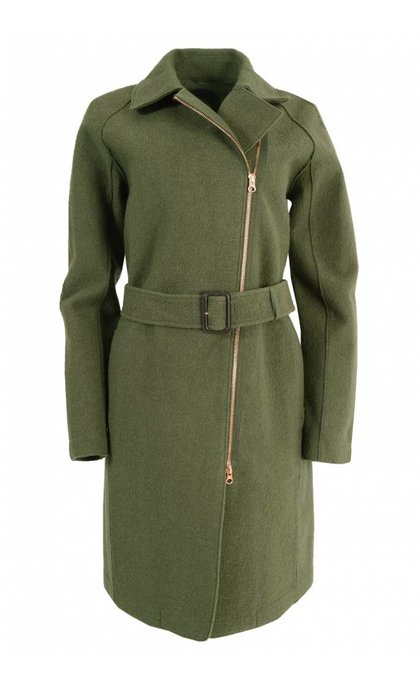 Langerchen Hutton Coat Military