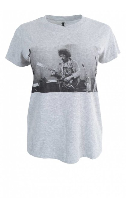 MKT Studio Twist Hendrix T-Shirt Gris Chine