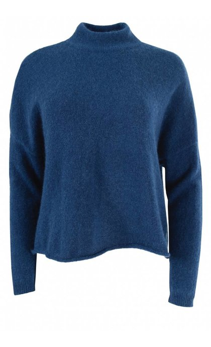 Tiger of Sweden Dot Wool Pullover Intense Blue