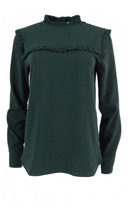 Second Female New Mist Blouse Scarab