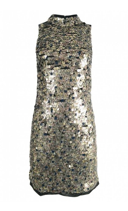 French Connection Moon Rock Sparkle Dress