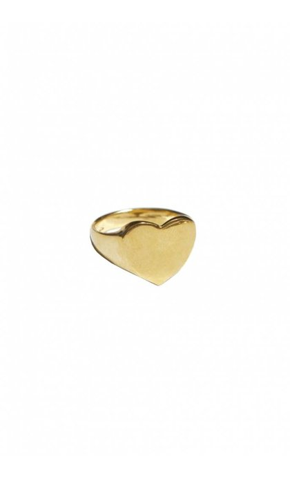 Fashionology Love Ring Goldplated