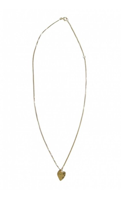 Fashionology Mini Love Necklace Goldplated