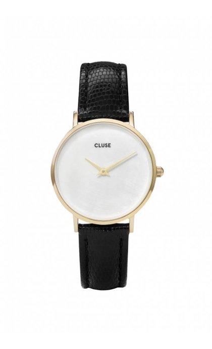 Cluse Minuit La Perle Gold White