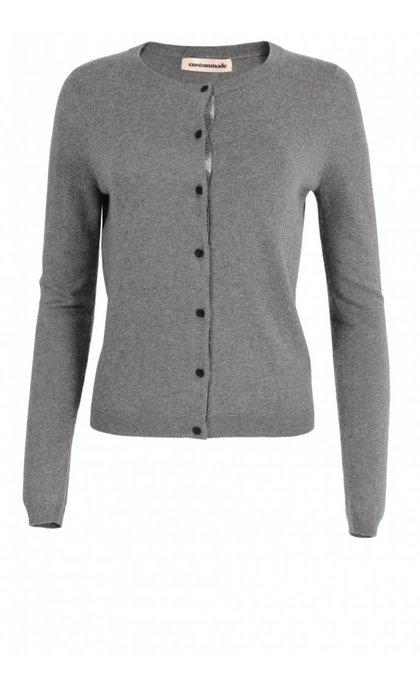 Dagmar Vest Grey Melange