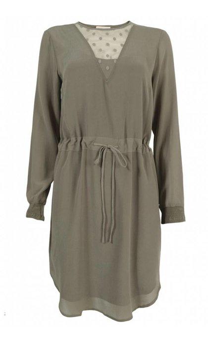 Stasia Dress Bungeecord Brown