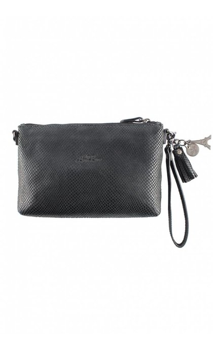 By LouLou 01 Pouch Queen of the Night Black