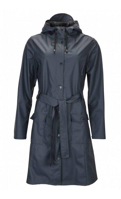 Rain Curve Jacket Blue