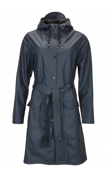Rain Curve Jacket Navy
