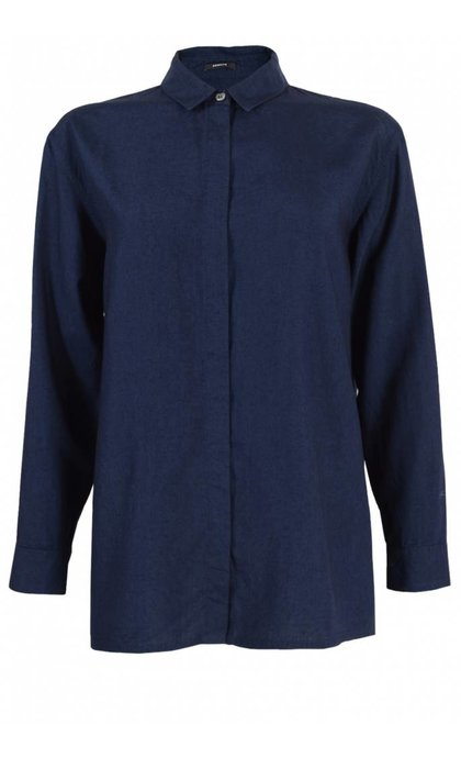 Denham Icon Shirt TEI Indigo