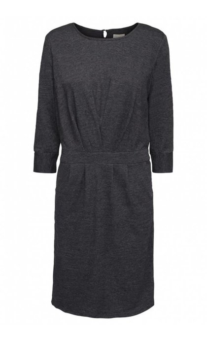 Minus Holly Dress Raven Grey Melange