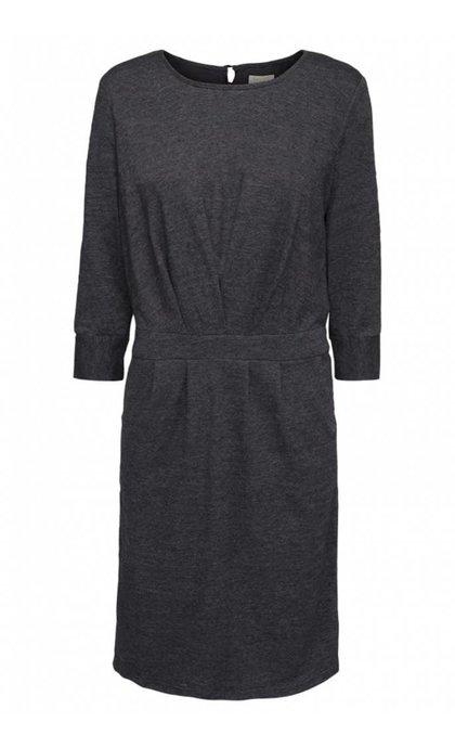 Minus Holly Dress Raven Grey Melange