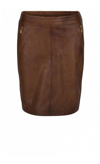 Minus Macie Skirt Cognac