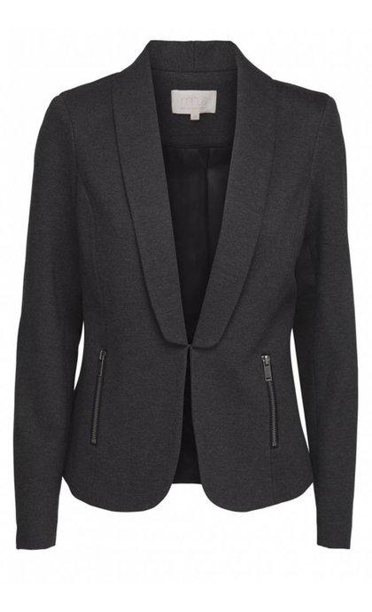 Minus Simantha Jacket Dark Grey Melange