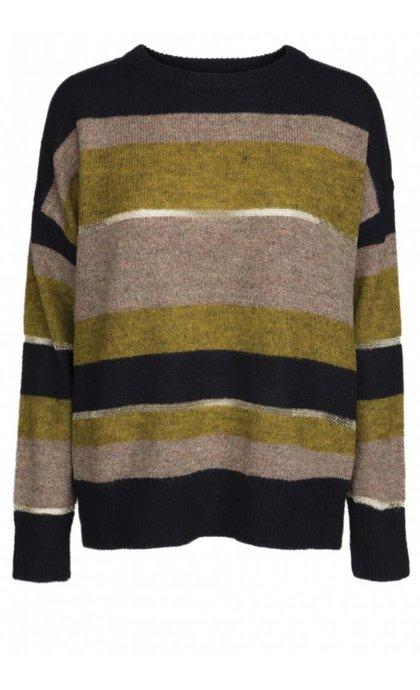 Minus Edith Striped Pullover