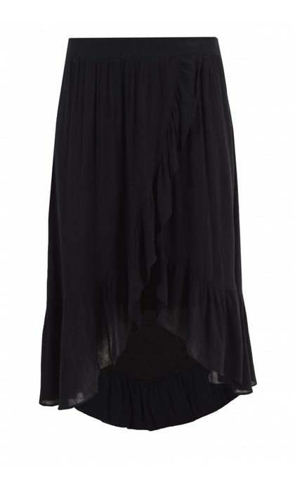 Custommade Elena Skirt Anthracite Black