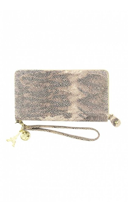 By LouLou SLBX76S Tiger LIly Wallet Grey