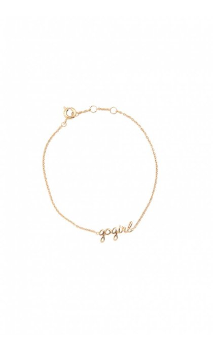 All the Luck in the World Urban Bracelet Gogirl Goldplated