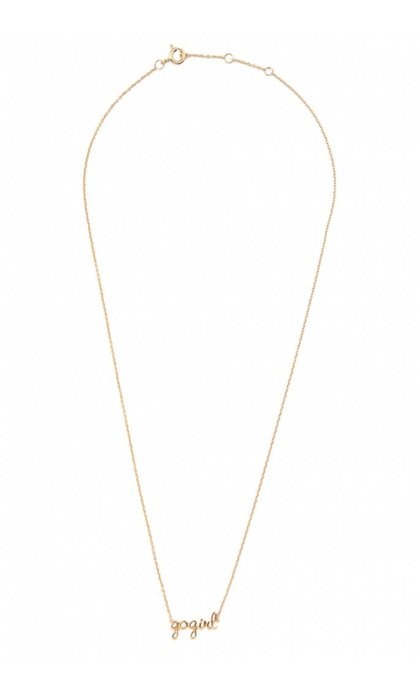 All the Luck in the World Urban Necklace Gogirl Goldplated