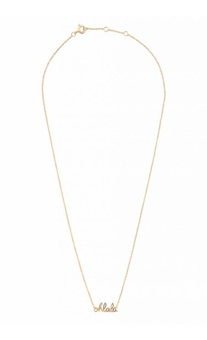 All the Luck in the World Urban Necklace Ohlala Goldplated