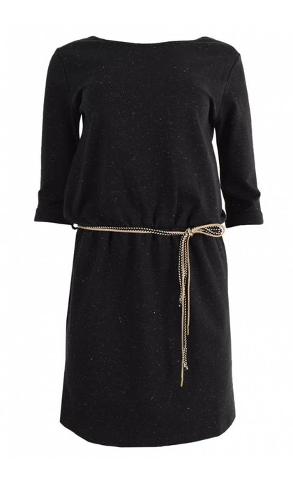 Sessun Temuco Black Dress