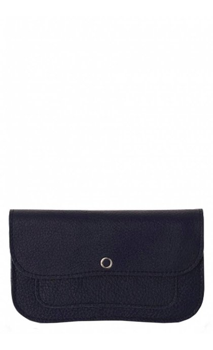 Keecie Cat Chase Wallet Medium Ink Blue