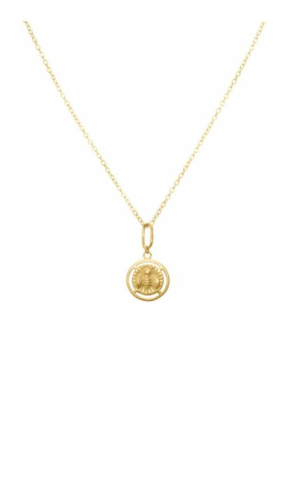 Wildthings Collectables Bee Necklace Goldplated