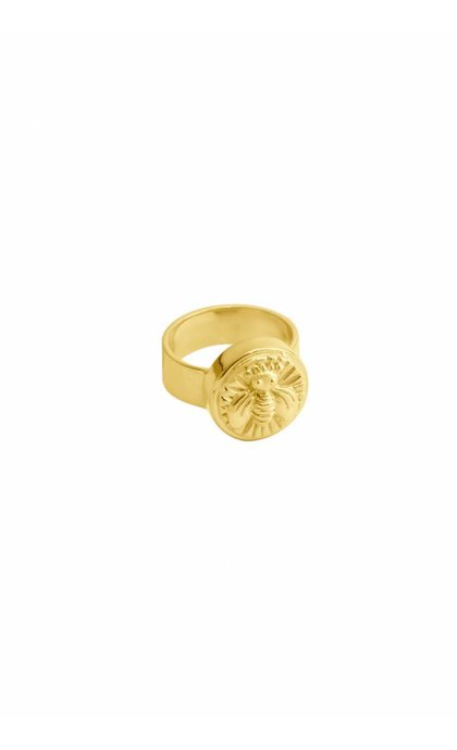 Wildthings Collectables Bee Ring Goldplated