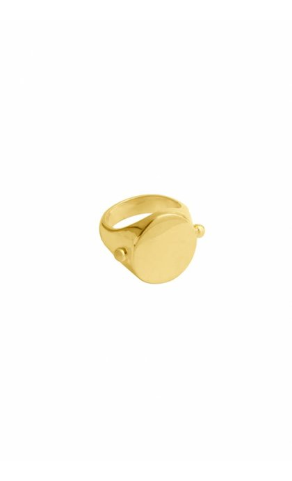 Wildthings Collectables Anchor Ring Goldplated