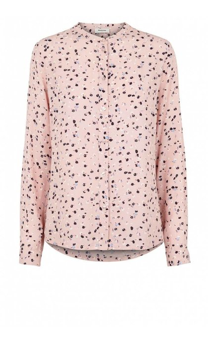 Modstrom Fasai Print Shirt Cosmo Rose