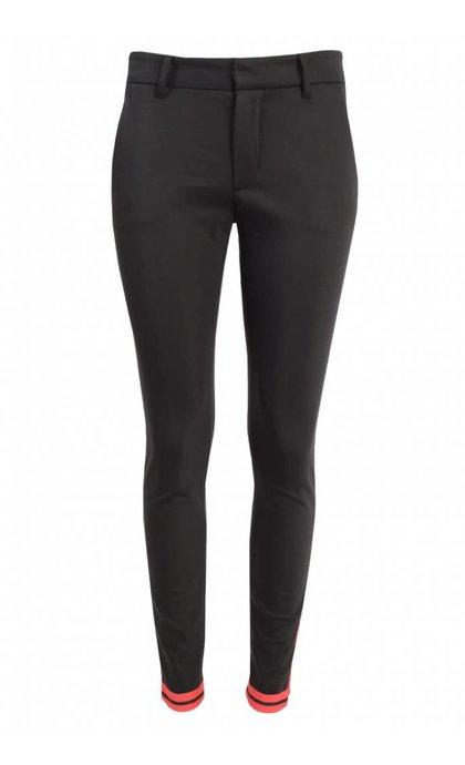 Mos Mosh Abbey Zip Pant Black