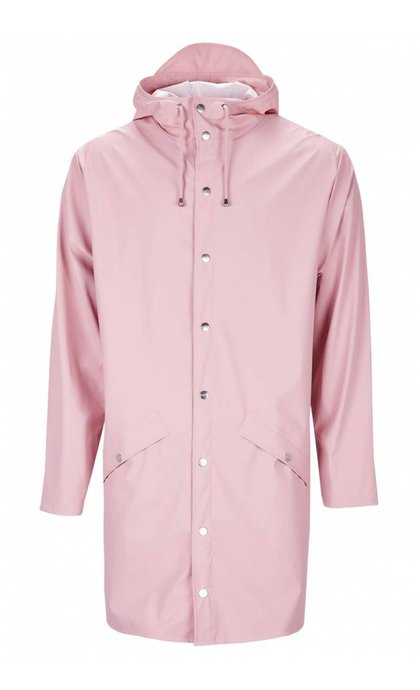 Rain Long Jacket Rose