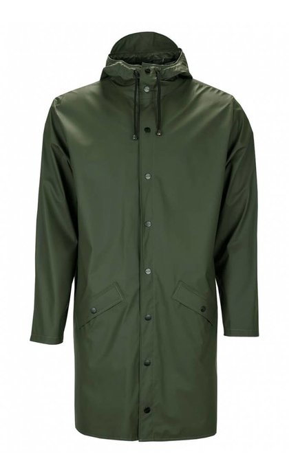 Rain Long Jacket Green