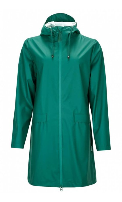 Rain W Coat jacket Dark Teal