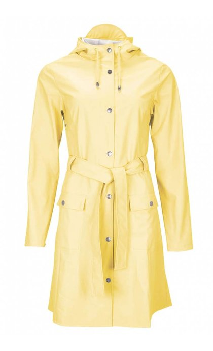 Rains Curve Jacket Wax Yellow