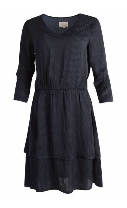 Minus Spora Dress Black Iris