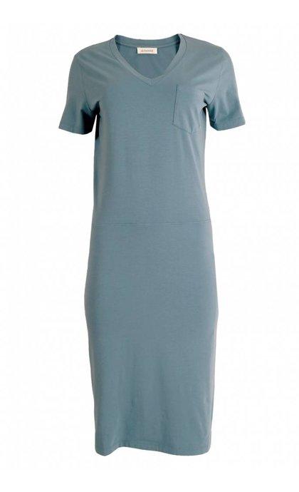 Alchemist Org Cotton Dress Wisteria