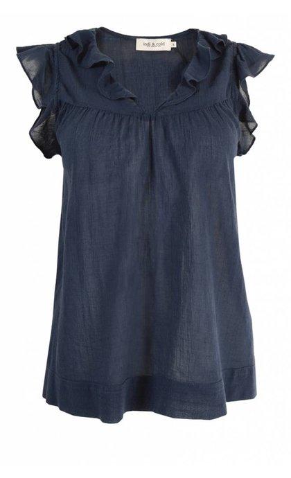 Indi & Cold LR533 Camisa Marino