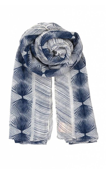 Becksondergaard Alum Scarf Blue Nights