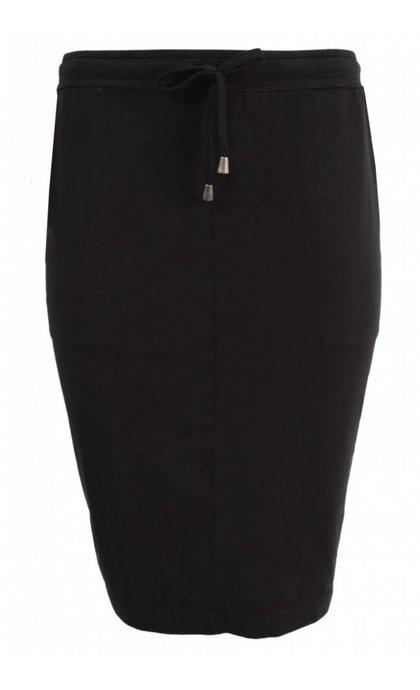 Alchemist Org Cotton Skirt Black