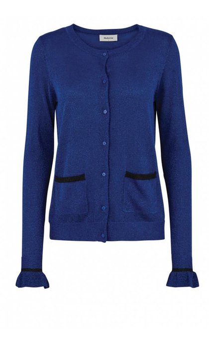 Modstrom Fennel Cardigan Royal Blue
