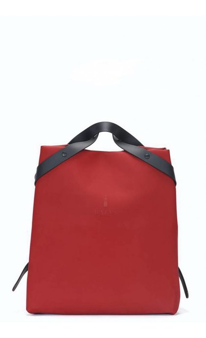 Rain Shift Bag Scarlet