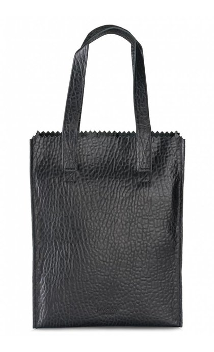 MYOMY Do Goods MY PAPER BAG Long handle zip  Bubble Black
