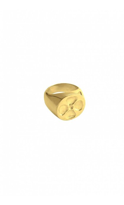 Wildthings Collectables Clover Ring Goldplated
