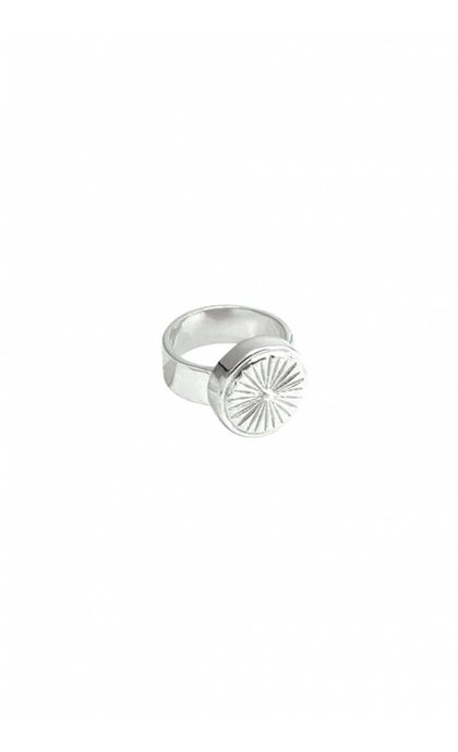 Wildthings Collectables Wildflower Ring Silver