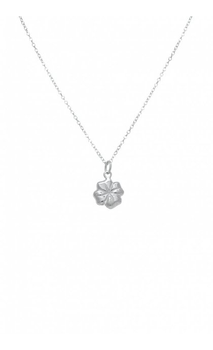 Wildthings Collectables Clover Necklace Silver