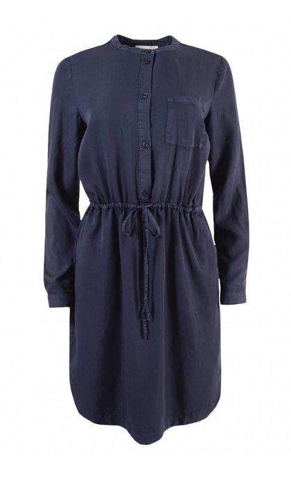 Modstrom Fabienne Dress Navy Sky